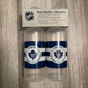 💜2/$25💜 NHL Baby Bottles / Toronto Maple Leafs
